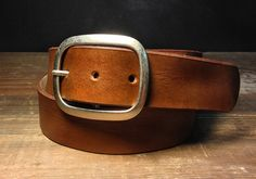 Hey, I found this really awesome Etsy listing at https://www.etsy.com/listing/103886710/brown-leather-belt-handmade-in-usa-b100