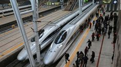 Record Breaker: #China's Incredible #North-#South #High-Speed #Train Line Plan