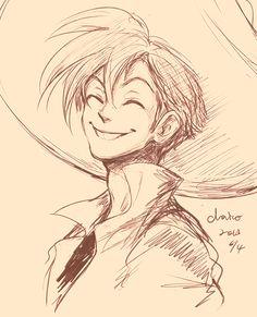 Smile by chacckco.deviantart.com on @deviantART Humanized Panchito. I love him, I love him.