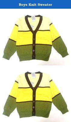 Boys Knit Sweater. Featuring ROYAL BOY'S v-neck cut, these Royal Boys' cardigan sweaters are a perfect look for your little guy in any season.