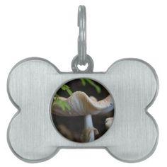 Toadstool Umbrella Pet ID Tag - home gifts ideas decor special unique custom individual customized individualized