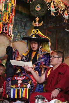 Dilgo Khyentse Yangsi Rinpoche and Gyaltse Tulku