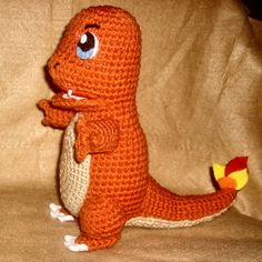 Ok, well. After many requests I finally managed to get around to making a Charmander. I know the pictures are terrible, but hey I'm not...