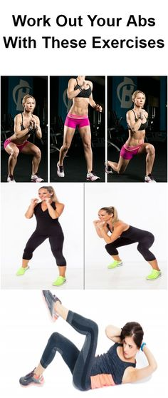 Work Out Your Abs With These 10 Exercises 1