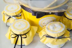 Favors at a Bumble Bee Party #bumblebee #party