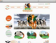 Web http://www.agricolagonzalez.es #disenoweb #diseno #web #webdesign #design #diseñoweb #diseño #desarrolloweb
