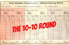 The 10-10 Round -  By: Antonio Cooper @AntonioCooper88 June 2, 2014  As a MMA fan 1st and a Journalist 2nd. I have to question what happened to the idea of a round being scored 10-10. It's one of those things that's rare and even tougher to judge but it's also an aspect within MMA that's necessary within their moments.  While a 10-10 round isn't necessary to occur within every fight, there are moments where the round is necessary to occur every now and then. #10-10Round #MMAChat