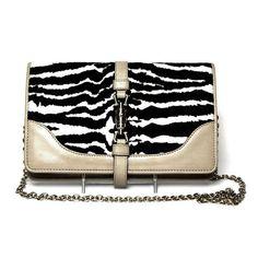Gucci Zebra Broadway Evening Bag - LuxuryProductsOnline