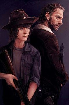 RICK AND CARL GRIMES Carl The Walking Dead, The Walking Death, Walking Dead Fan Art, Walking Dead Quotes, Walking Dead Show, Walking Dead Series, Walking Dead Zombies, The Walking Dead Tumblr, Carl Grimes