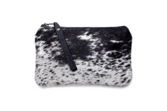 Salt + Pepper Cowhide Wallet