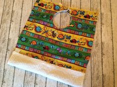 Toddler Gift Ladybug Party Ideas Lady Bug Baby Shower Gift Personalized Towel Bib #t #ladybug #personalized #babygift #gardenparty