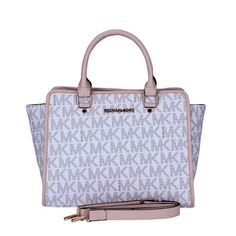 Michael Kors Outlet Selma Logo Signature Large White Totes $69.99 Need these to match my watch!