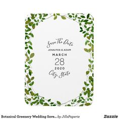 Shop Early Autumn Botanical Wedding Save The Date Magnet created by JillsPaperie. Personalize it with photos & text or purchase as is! Save The Date Magnets, Save The Date Postcards, Save The Date Cards, Save The Date Invitations, Wedding Invitations, Quinceanera Invitations, Invites, Rustic Wedding Save The Dates