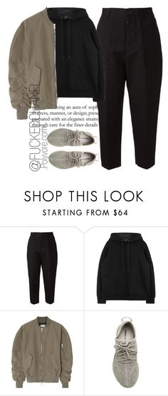 """✋"" by fuckedchanel ❤ liked on Polyvore featuring Arts & Science, Fear of God and adidas Originals"