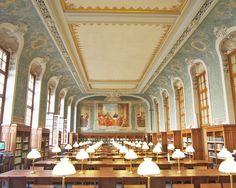 La bibliothèque de la Sorbonne