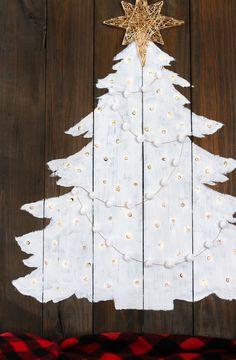 DIY Light up Christmas Tree