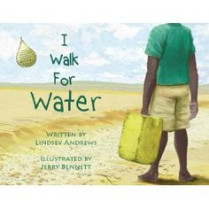 Need to get this book.  Our church family is walking for water to raise money to drill a well.