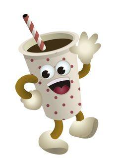 Becher Kaffee