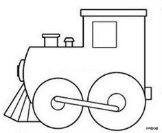 mini train coloring pages | coloring pages | pinterest | favors ... - Polar Express Train Coloring Page