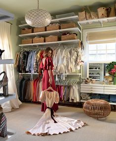 A Palm Beach Apartment by Danielle Rollins - The Glam Pad West Palm Beach, Danielle Rollins, Dressing Room Closet, Dressing Rooms, Dressing Table, Beautiful Closets, One Bedroom, Bedroom Retreat, Decoration