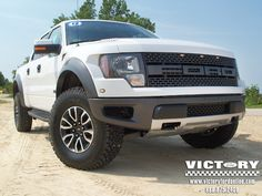 "Nothing is quite ""in your face"" as a new Victory Ford SVT Raptor!!!"