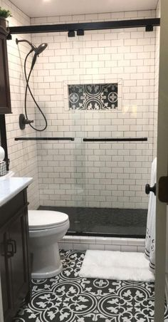 Bathroom Design Trends 2019 for Best ROI 2019 Small bathrooms are a great place to get creative! Here are the latest bathroom trends for The post Bathroom Design Trends 2019 for Best ROI 2019 appeared first on Shower Diy. Bathroom Trends, Bathroom Interior, Bathroom Furniture, Industrial Bathroom, Latest Bathroom Designs, Small Bathroom Designs, Bathroom Tile Designs, Interior Minimalista, Downstairs Bathroom