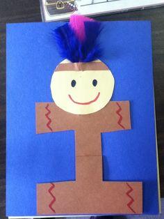 Letter I or i crafts - Preschool Crafts