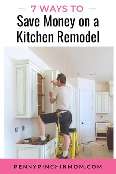 How to remodel your kitchen on a budget the smart way. Save Your Money, Ways To Save Money, Make Money From Home, Kitchen On A Budget, Kitchen Hacks, Kitchen Decor, Kitchen Ideas, Saving Ideas, Money Saving Tips