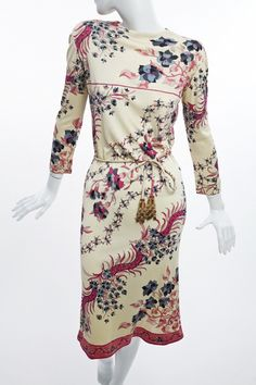 Emilio Pucci - Silk Jersey Printed Dress | Manhattan Vintage Clothing Show