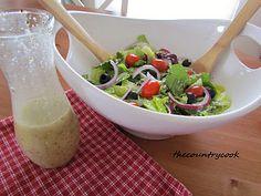 From Rabbits Garden Salad with creamy italian Dressing