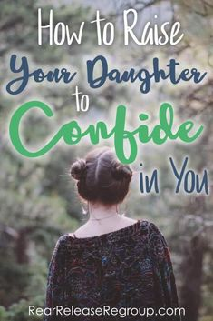 How to raise your daughter to confide in you - one simple tip you may be overlooking. Christian parenting tips for mothers to build life-long relationships. Parenting Toddlers, Parenting Teens, Parenting Humor, Kids And Parenting, Parenting Hacks, Parenting Plan, Parenting Classes, Parenting Styles, Peaceful Parenting
