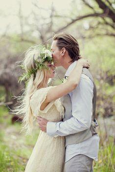 Bohemian Bride and Groom | photography by http://www.stephaniesunderland.com/