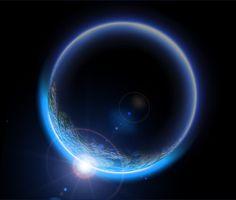 빛 효과,에너지 절약,달,아이디어,공,푸른 별,포스터 디자인,월식.,월식.,반짝이 Trinity Logo, Planets, Desktop, Universe, Neon, Technology, Celestial, Texture, Blue