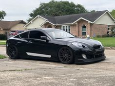 This set of headlights that we built for the genesis coupe are crazy! 4 inch carbon fiber tube ram air intake switchback halos switchback strips all black ho. Custom Headlights, Carbon Fiber, Cutaway
