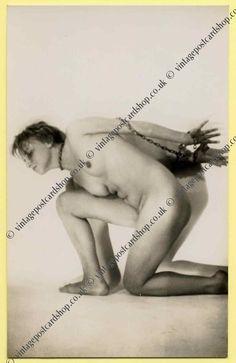 vintage postcard shop ephemera collectables battlesbridge essex - 1920/30s nudes postcards