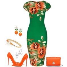 Tropical Dress