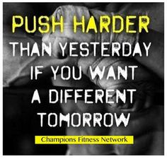 Push today...push your mind, your body and your spirit. #motivation #workout #fitness #life