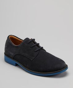 Take a look at this Joseph Allen Navy Dress Shoe on zulily today!
