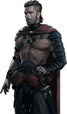 Human, Male, dual swords