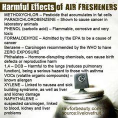 Harmful Effects of Air Fresheners!