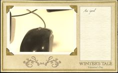 I just made my own Winters Tale Valentine's Day Card! In theaters February 13th.