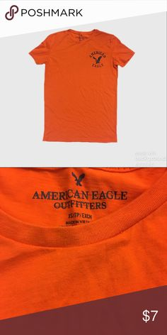 American Eagle Outfitters Men's Graphic Logo Tee Washed but never worn. American Eagle Outfitters Shirts Tees - Short Sleeve
