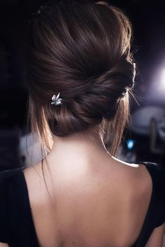Ideas for wedding hairstyles elegant updo low chignon Wedding Hairstyles For Long Hair, Elegant Hairstyles, Wedding Hair And Makeup, Braided Hairstyles, Cool Hairstyles, Bridal Hairstyle, Chignon Hairstyle, Braided Updo, Hair Wedding
