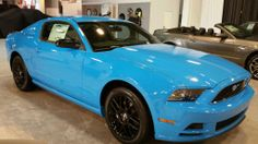2015 baby blue color Mustang
