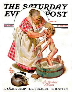 Saturday Evening Post  Illustrated by JC Leyendecker  September 1932