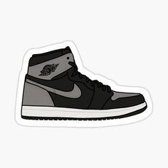 Sticker «JORDAN 1 HAUT DIOR», par ShopJLStudio | Redbubble Jordan 1, Dior, Dope Wallpapers, Black Pink Kpop, Aesthetic Stickers, Pastel, Sneakers Nike, Painting, Shoes