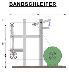 Bandschleifer Eigenbau Projekt - Schmiede das Eisen
