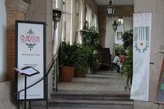 La Fabrica La Aurora and one of its restaurants