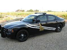 Idaho state police car