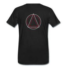Geometría - Círculo Triángulo Sudaderas - Camiseta premium hombre